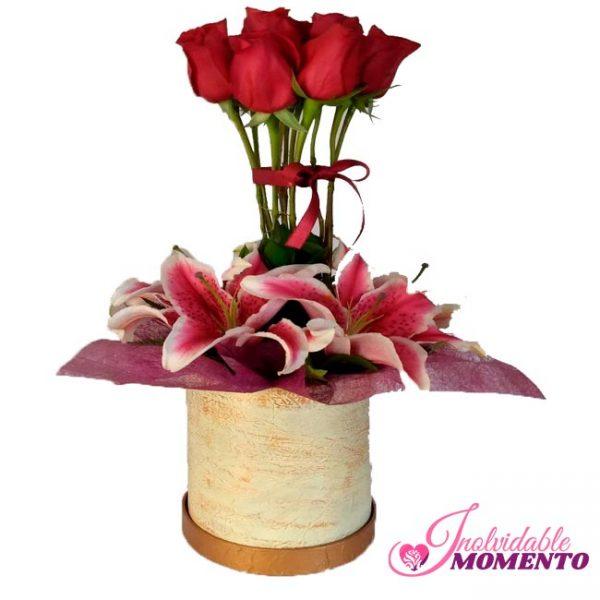 Comprar Regalo 5 Lirio y 7 Rosas