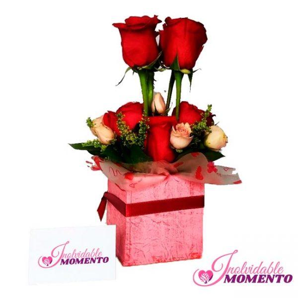 Comprar Regalo 8 Rosas y Mini Rosas