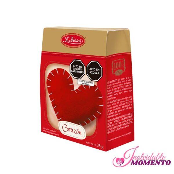 Comprar Regalo Corazón de Chocolate 35G