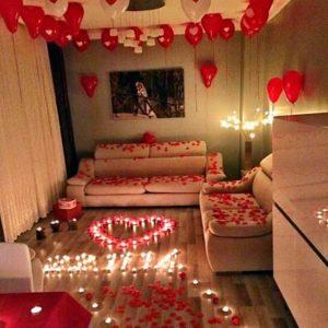 Servicio de Decorado de Habitación Noche Romántica