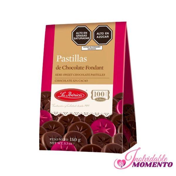 Comprar Regalo Pastillas de Chocolate Fondant 150G