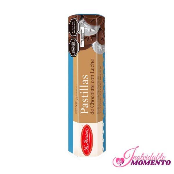 Comprar Regalo Pastillas de Chocolate con Leche 100G