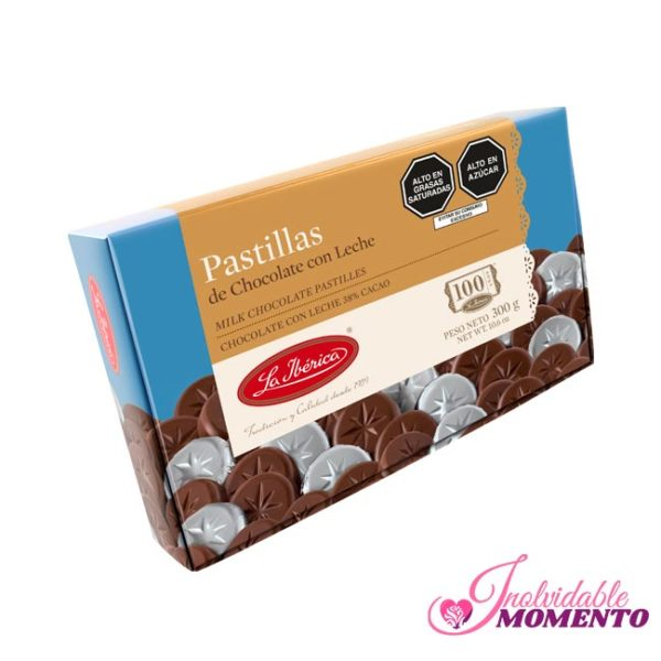 Comprar Regalo Pastillas de Chocolate con Leche 300G