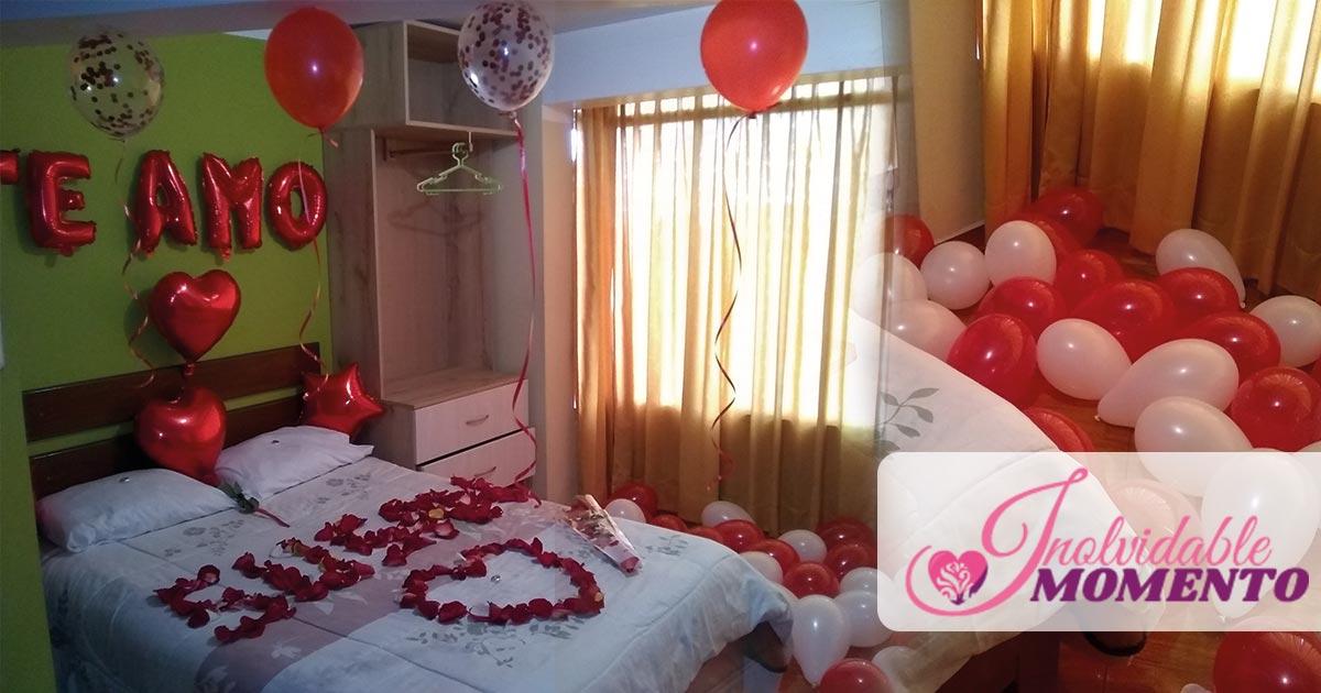 Como decorar una habitación romántica